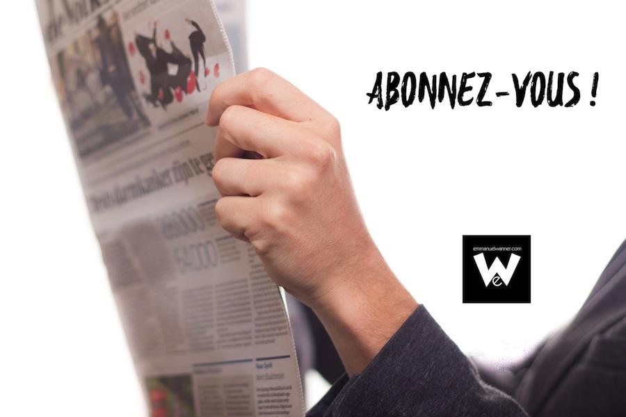 Newsletter Emmanuel Wanner